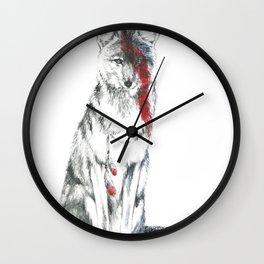 Coyote II Wall Clock