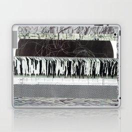 Collage - Black on White Laptop & iPad Skin