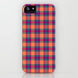 Nicki's Plaid iPhone Case
