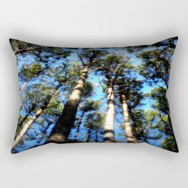 TREES ( A Blessed Glance Up) Rectangular Pillow