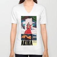 manga V-neck T-shirts featuring Manga 05 by Zuno