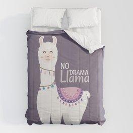 No Drama Llama Comforters