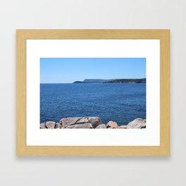 Cabot Trail Framed Art Print