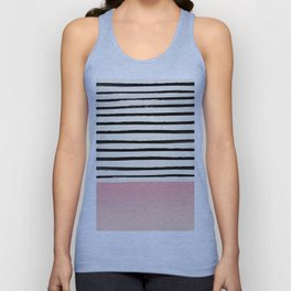 Blush x Stripes Unisex Tank Top