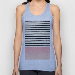 Blush x Stripes Unisex Tank Top