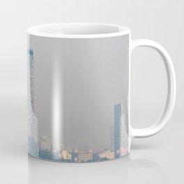 Skyscrapers in the skyline of Izmir (Turkey) Coffee Mug