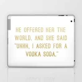 Vodka Soda Laptop & iPad Skin