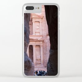 End of the path to Petra Jordan Clear iPhone Case