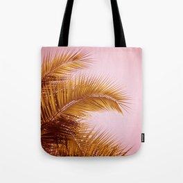 Rose Gold Tropics Tote Bag