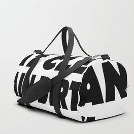 Eat Clean Train Dirty Duffle Bag