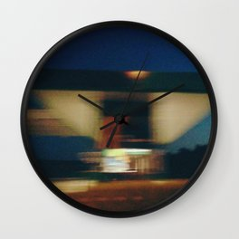 Balkan Drive By (Photograph) Wall Clock