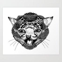 GAT. Art Print