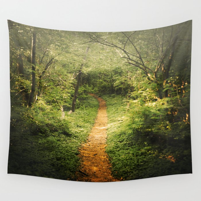 The Beckoning Wall Tapestry