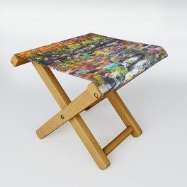 Hidden Peace by Sher Nasser Artist Folding Stool