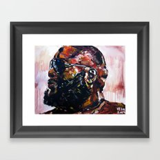 masterpiece for the #mastermind Framed Art Print