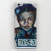 parks iPhone & iPod Skins featuring Rosa Parks by Debbie Chessell