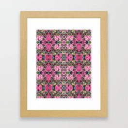 guarded heart Framed Art Print