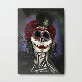 Night Of The Dead Metal Print
