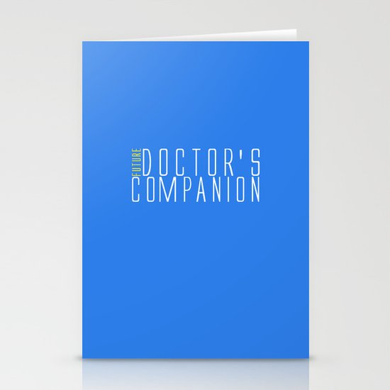 Future Doctor's Companion Stationery Cards