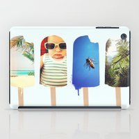 popsicle iPad Cases featuring Popsicle by Jemma Pope