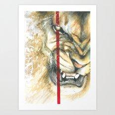 Jay Freestyle - Lion Art Print