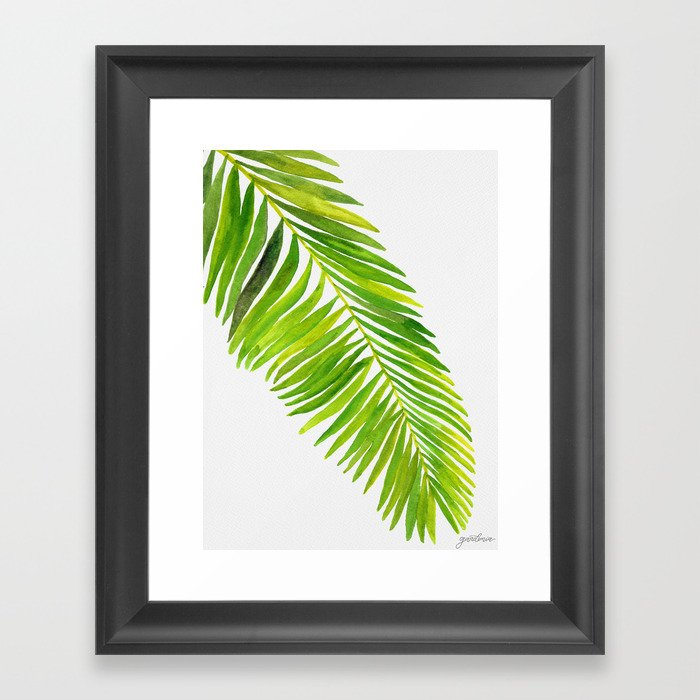 Tropical Collection Part IV Framed Art Print