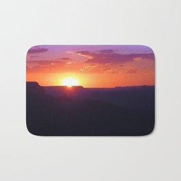 Colorful Grand Canyon Sunset Bath Mat