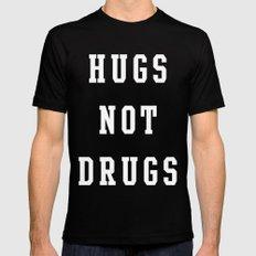 Hugs Black MEDIUM Mens Fitted Tee