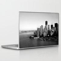 manhattan Laptop & iPad Skins featuring Manhattan  by Zakvdboom Designs
