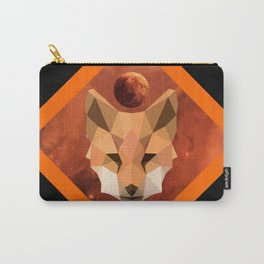 Polyfox in Space Carry-All Pouch