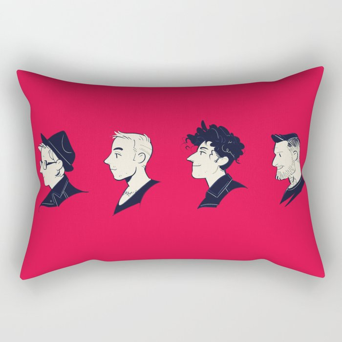 We Are the Fall Out Rectangular Pillow