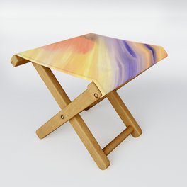 """Catch the Sun #1 – New #1"" Oil Painting Folding Stool"