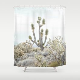 surrounded by friends Shower Curtain