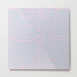 Seeing Spots (Pink) Metal Print