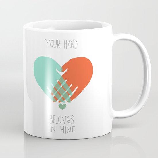 I wanna hold your hand Mug