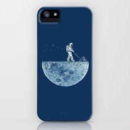 Space walk iPhone Case