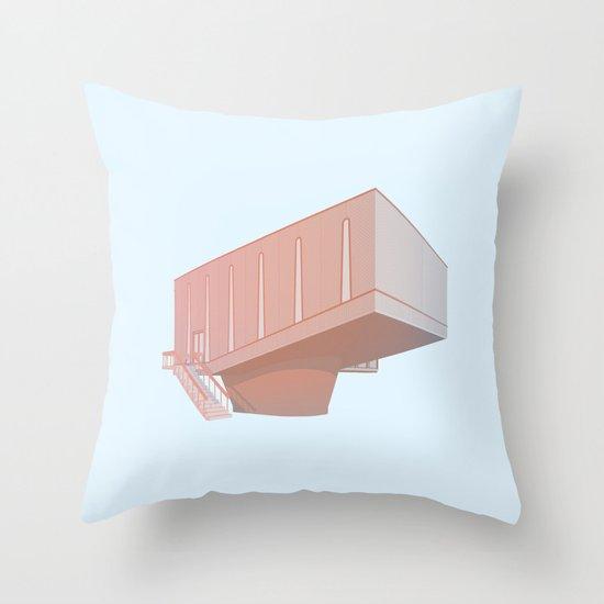 Hudson Beare Throw Pillow