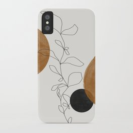 Abstract Plant iPhone Case