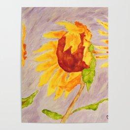 Sunflowers | Tournesols Poster