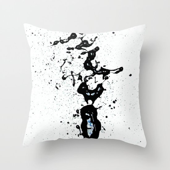 "Black Love (find the ""L"") Throw Pillow"