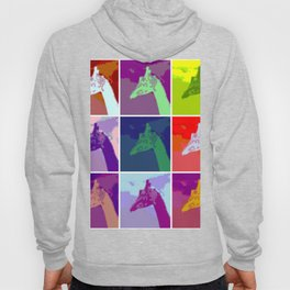 Everyone Loves Giraffes - Abstract Art Hoody