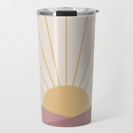 Morning Light - Pink Travel Mug