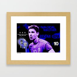 The Magical Magyar - Zoltan Gera Framed Art Print
