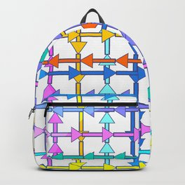 Colorful arrows Backpack