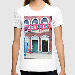 Retro Carnival in the City T-shirt