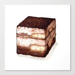 Desserts: Tiramisu Canvas Print