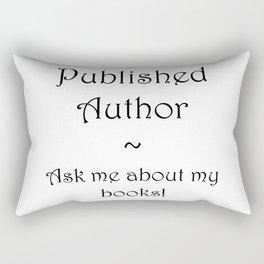 Published Author Clean Rectangular Pillow