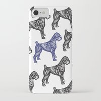 boxer iPhone & iPod Cases featuring Boxer by creative.court