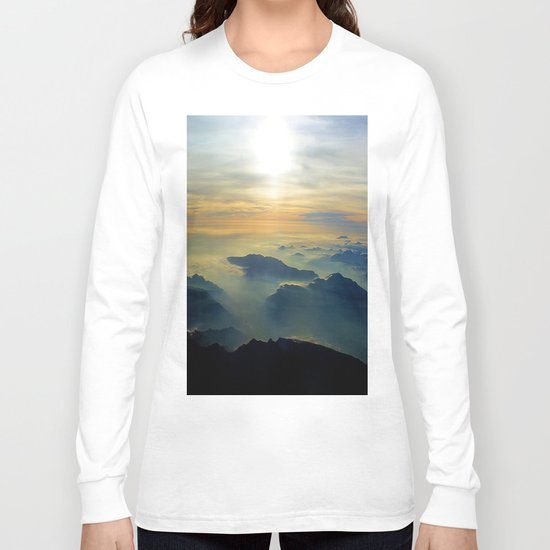 Didn't Have to Die to go to Heaven (Just had to go home) Long Sleeve T-shirt