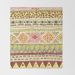 Pizza Pattern Throw Blanket